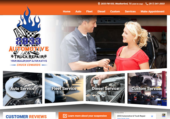 2033 Automotive & Truck Repair